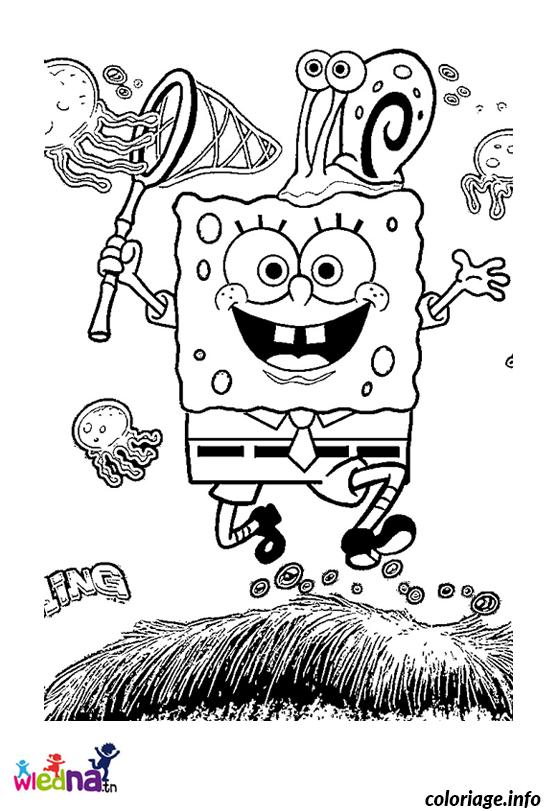 Coloriage Dessin Bob Leponge 282 dessin
