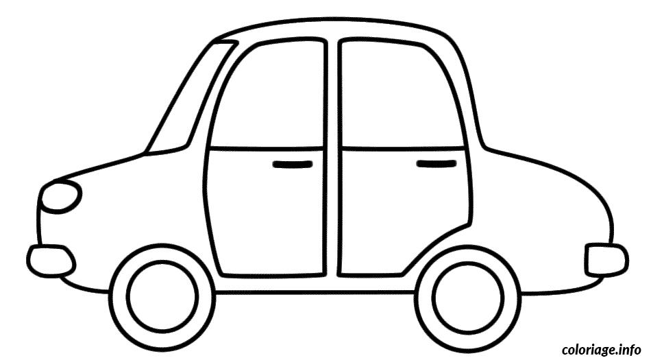 Coloriage dessin voiture enfant 29 - Dessins voiture ...