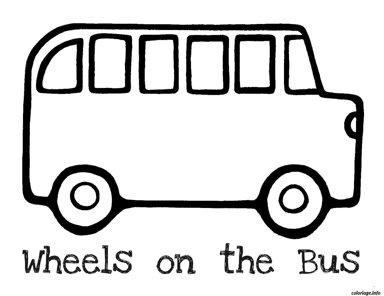 Dessin dessin bus enfant 31 Coloriage Gratuit à Imprimer