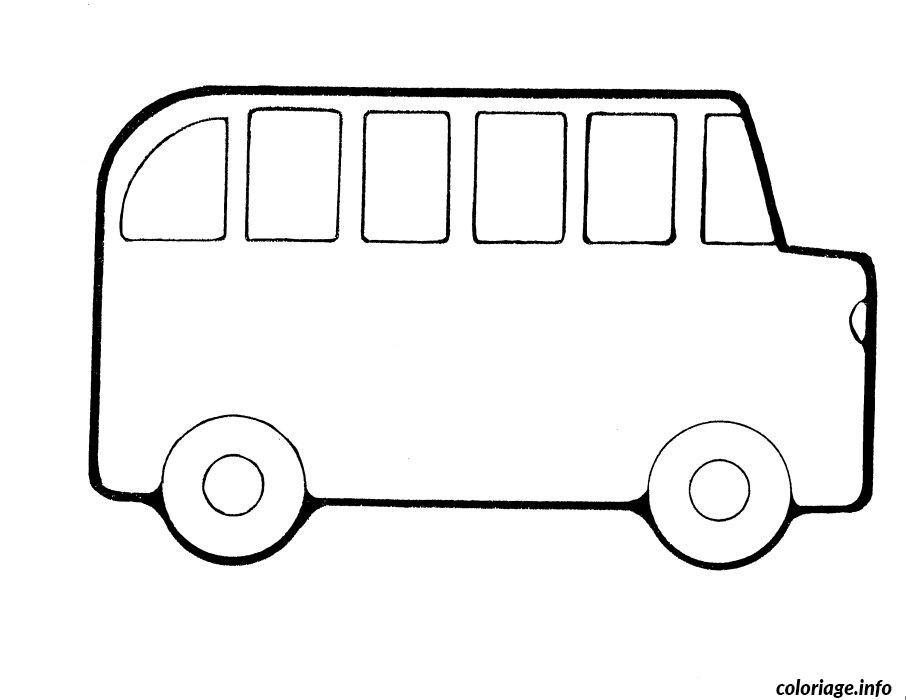 coloriage dessin bus enfant 34 dessin