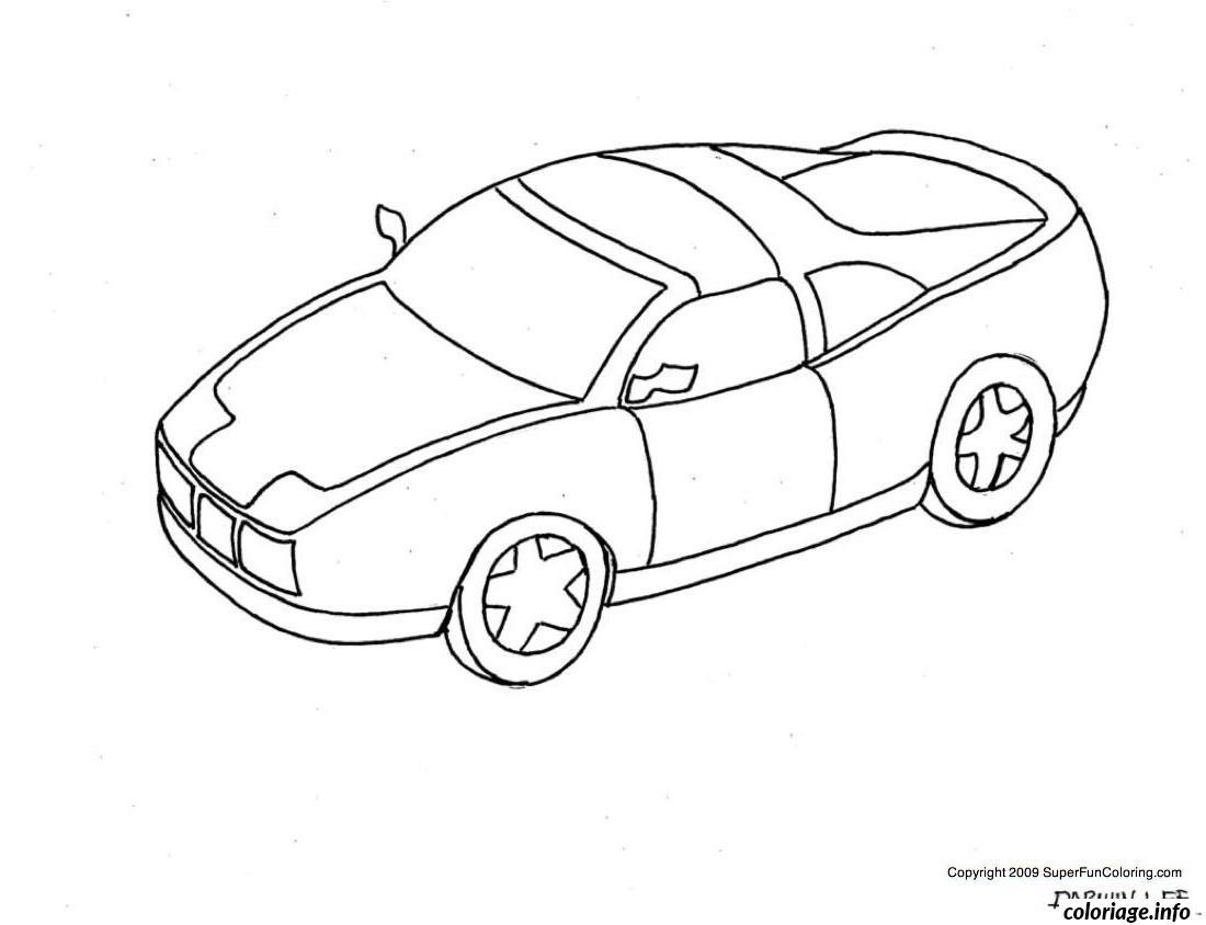 Coloriage dessin voiture enfant 42 - Coloriage voiture gratuit ...