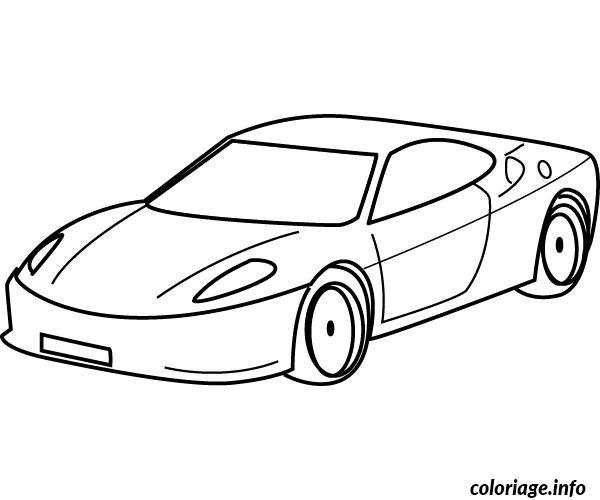 coloriage dessin voiture enfant 43 dessin. Black Bedroom Furniture Sets. Home Design Ideas