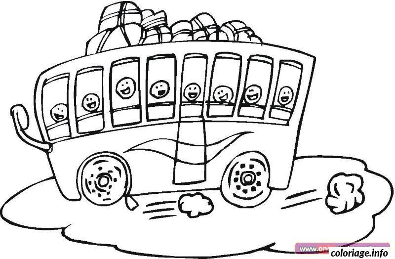 Dessin dessin bus enfant 47 Coloriage Gratuit à Imprimer