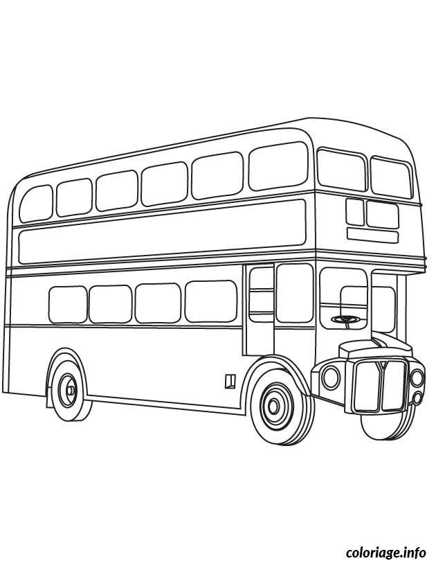 Dessin dessin bus enfant 50 Coloriage Gratuit à Imprimer