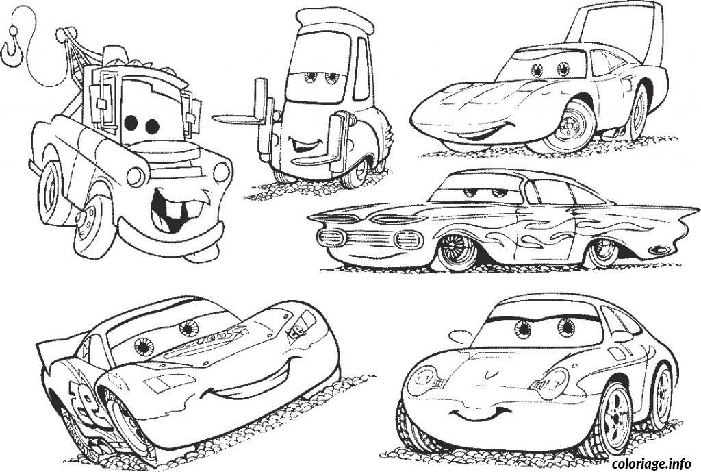 Coloriage dessin voiture enfant 48 - Coloriage enfant cars ...
