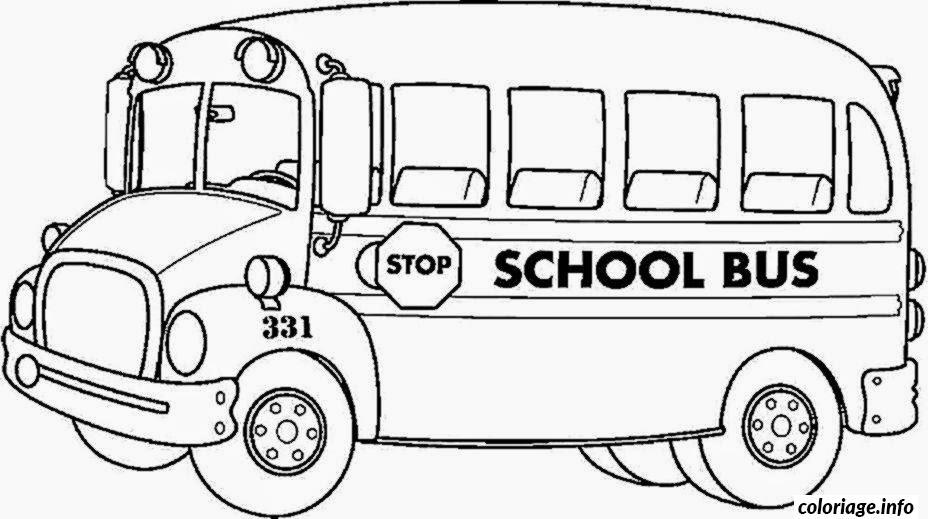 Dessin dessin bus enfant 1 Coloriage Gratuit à Imprimer