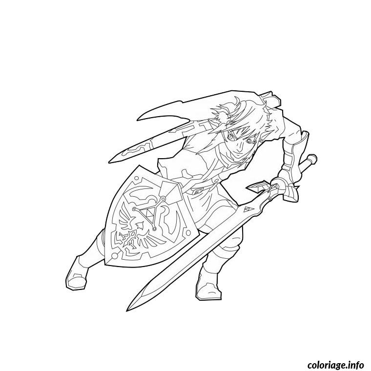 Coloriage zelda twilight princess my blog for Midna coloring pages
