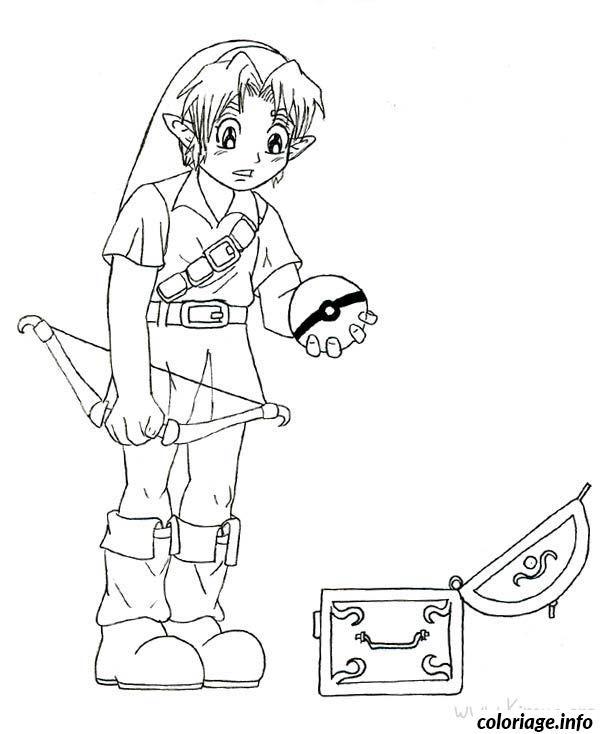 Coloriage Dessin Zelda 16 Dessin Zelda A Imprimer