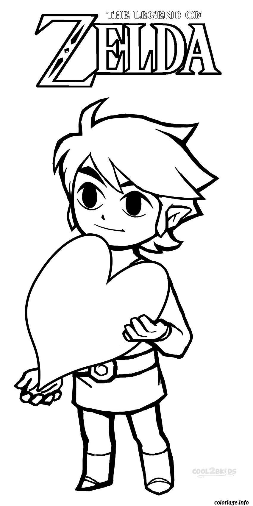 Coloriage Dessin Zelda 39 dessin