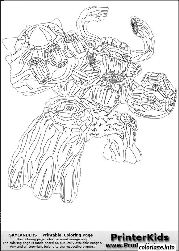 Coloriage dessin skylanders 142 dessin - Skylanders dessin ...