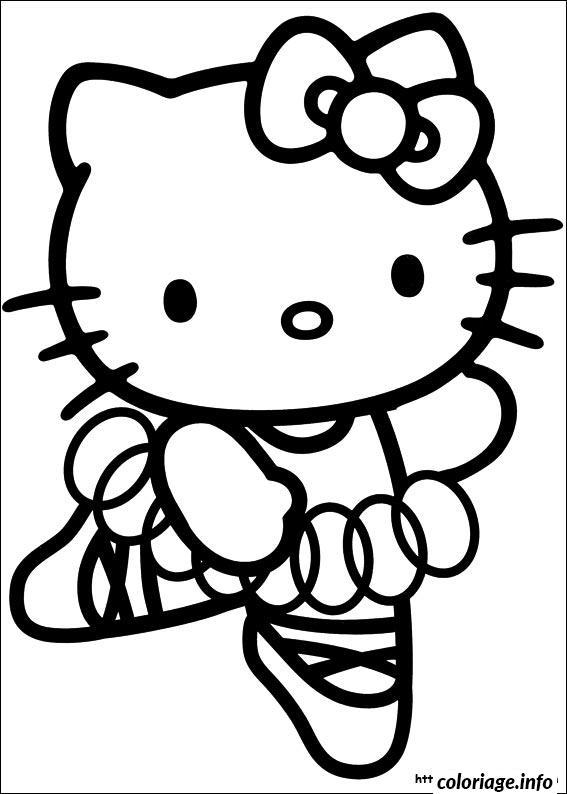 Dessin dessin hello kitty 32 Coloriage Gratuit à Imprimer