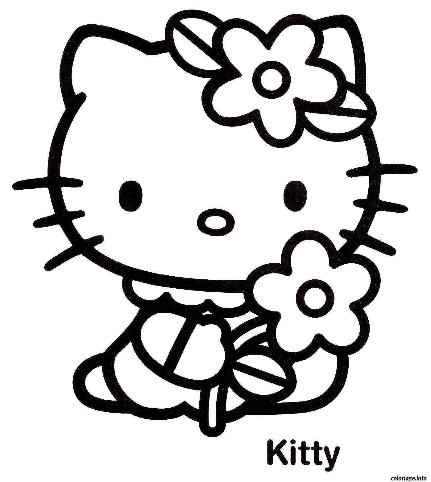 Coloriage dessin hello kitty 89 - Dessiner hello kitty ...