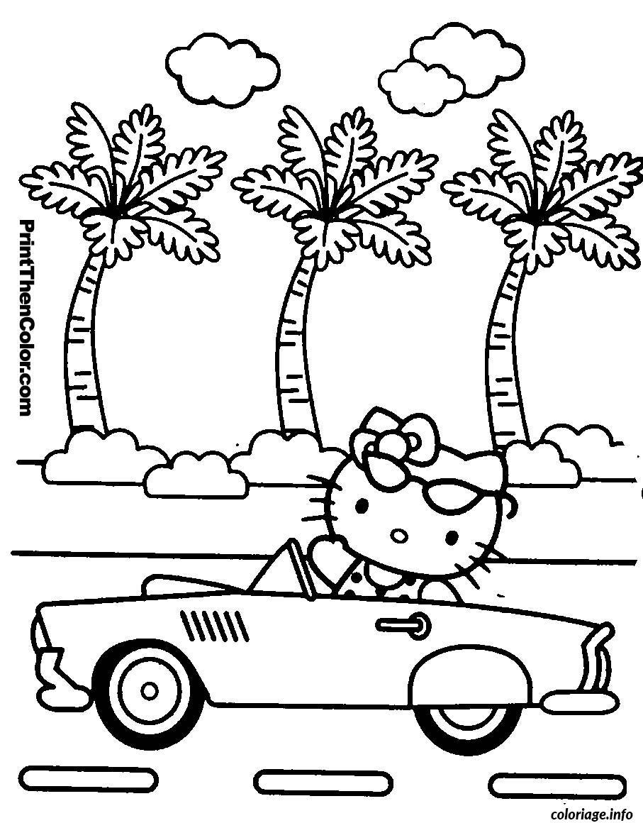 Dessin dessin hello kitty 99 Coloriage Gratuit à Imprimer