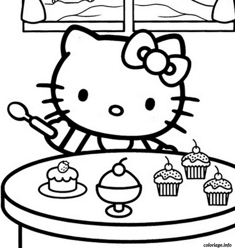 Coloriage dessin hello kitty 280 dessin - Coloriage hello kitty a colorier ...