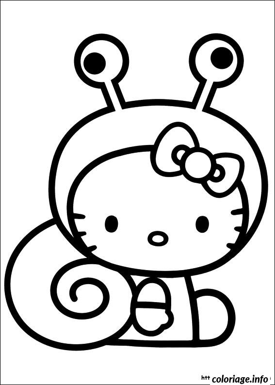 Dessin dessin hello kitty 40 Coloriage Gratuit à Imprimer