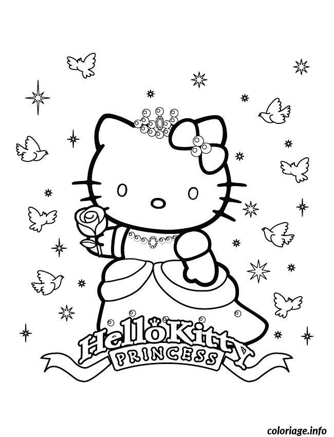 Dessin dessin hello kitty 21 Coloriage Gratuit à Imprimer