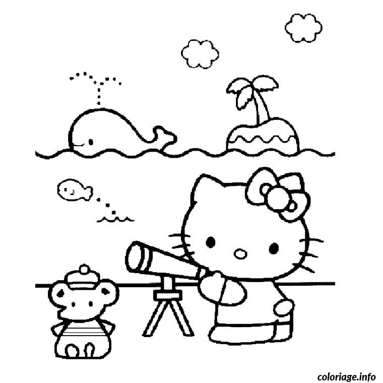 Coloriage Dessin Hello Kitty 123 Dessin à Imprimer