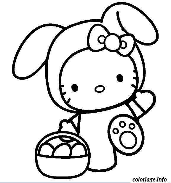 Dessin dessin hello kitty 293 Coloriage Gratuit à Imprimer