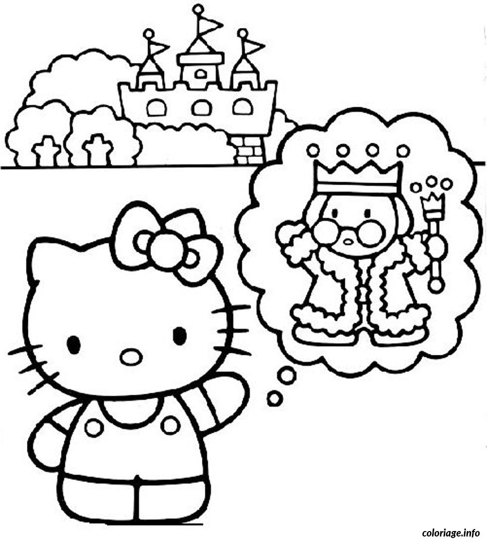 Coloriage dessin hello kitty 120 dessin - Coloriage hello kitty a colorier ...