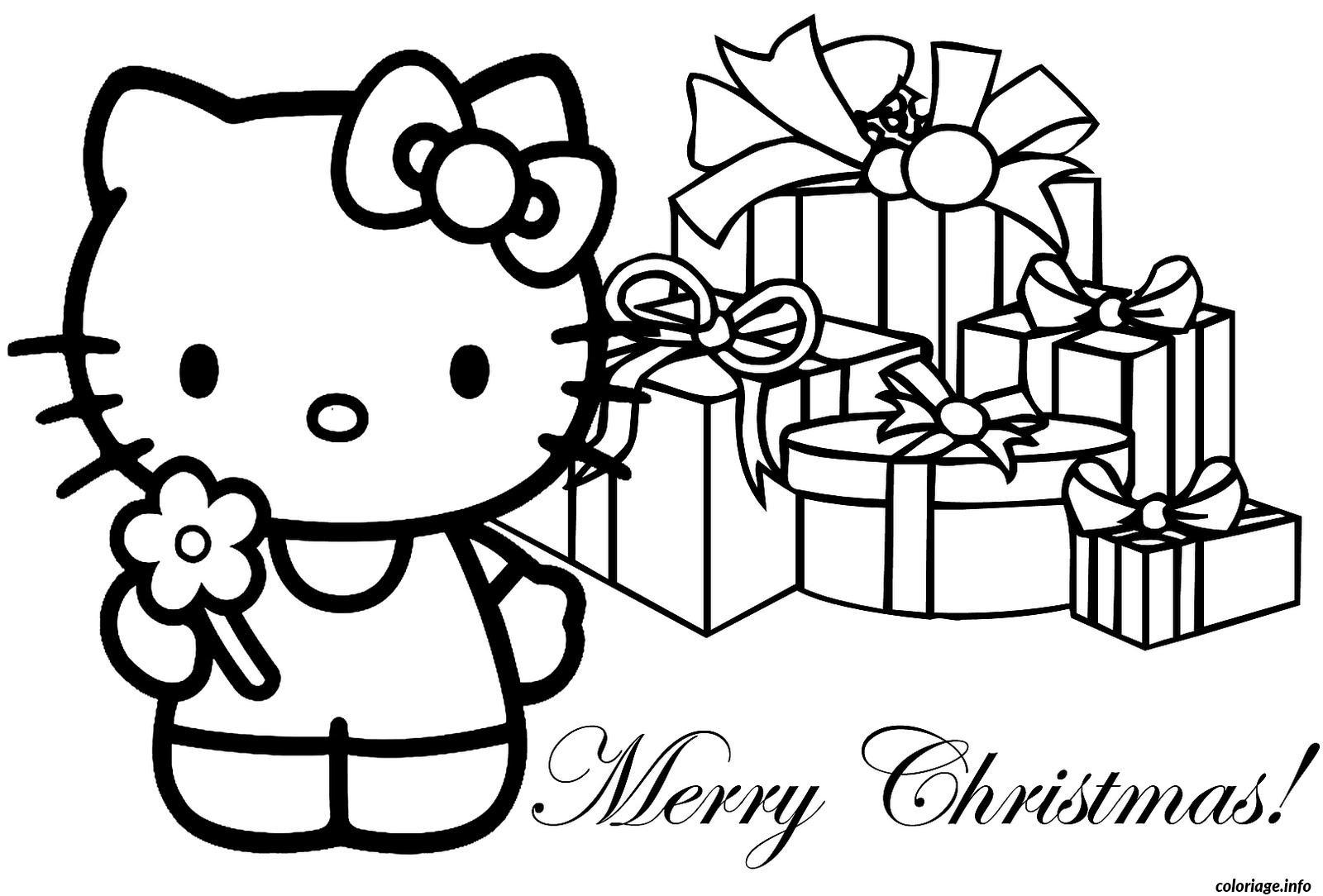 Dessin dessin hello kitty 299 Coloriage Gratuit à Imprimer