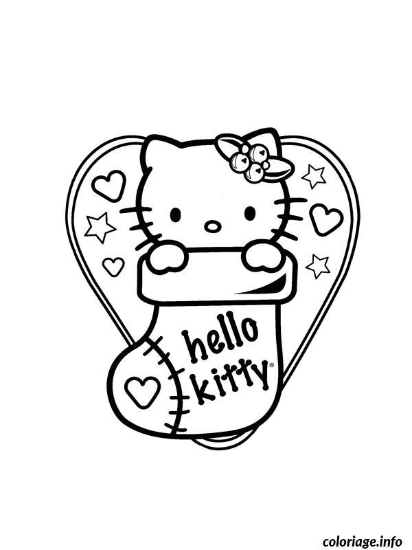 Dessin dessin hello kitty 131 Coloriage Gratuit à Imprimer