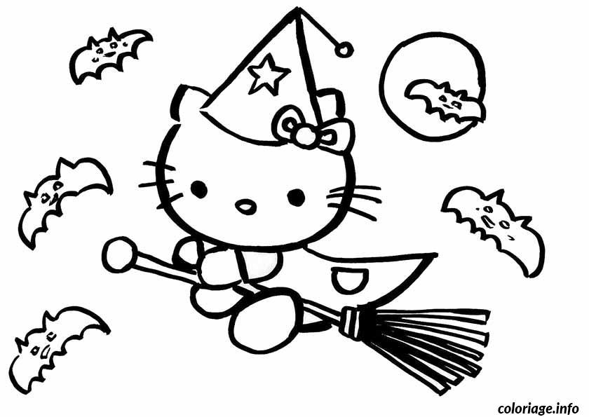 Dessin dessin hello kitty 90 Coloriage Gratuit à Imprimer
