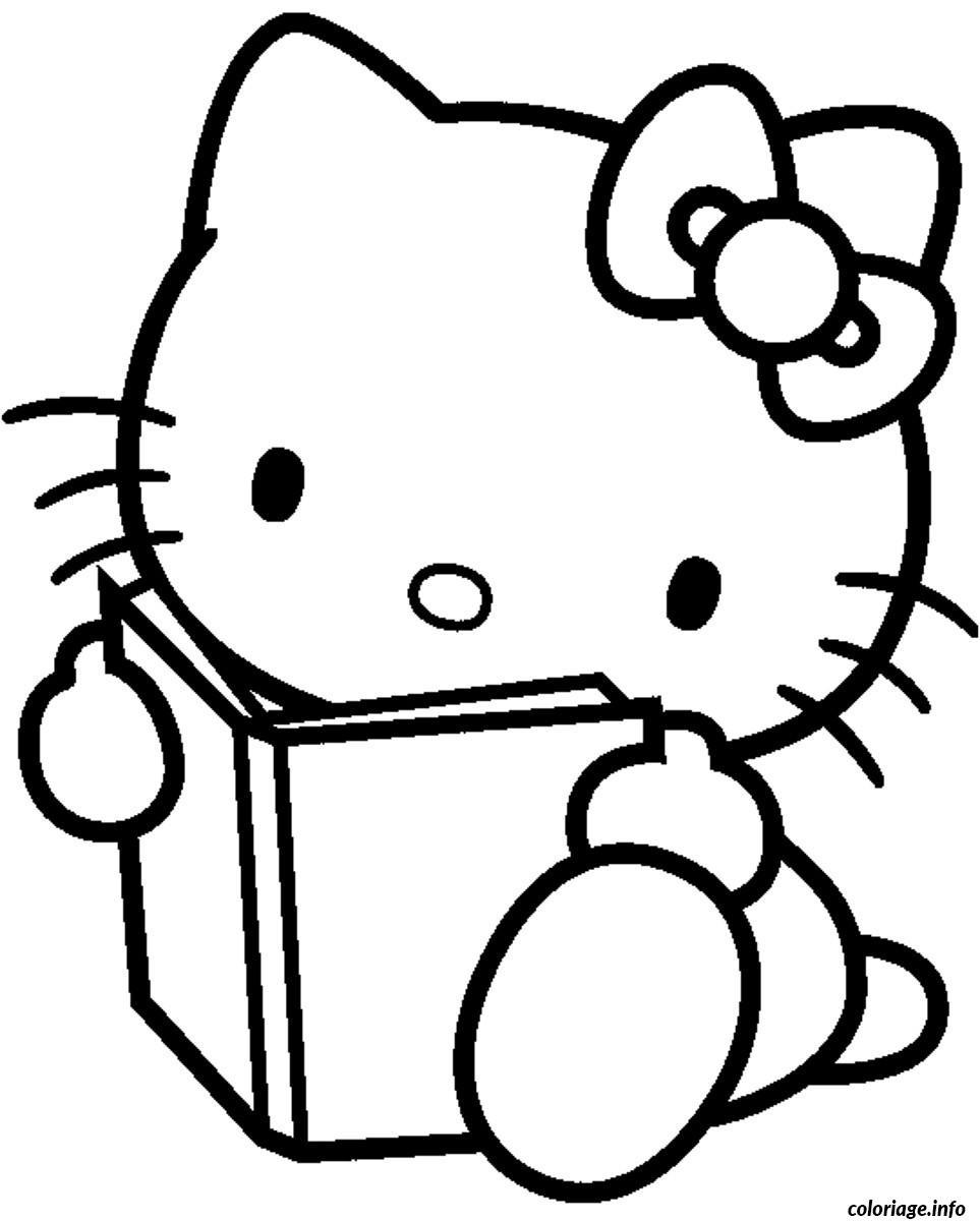 Dessin dessin hello kitty 28 Coloriage Gratuit à Imprimer