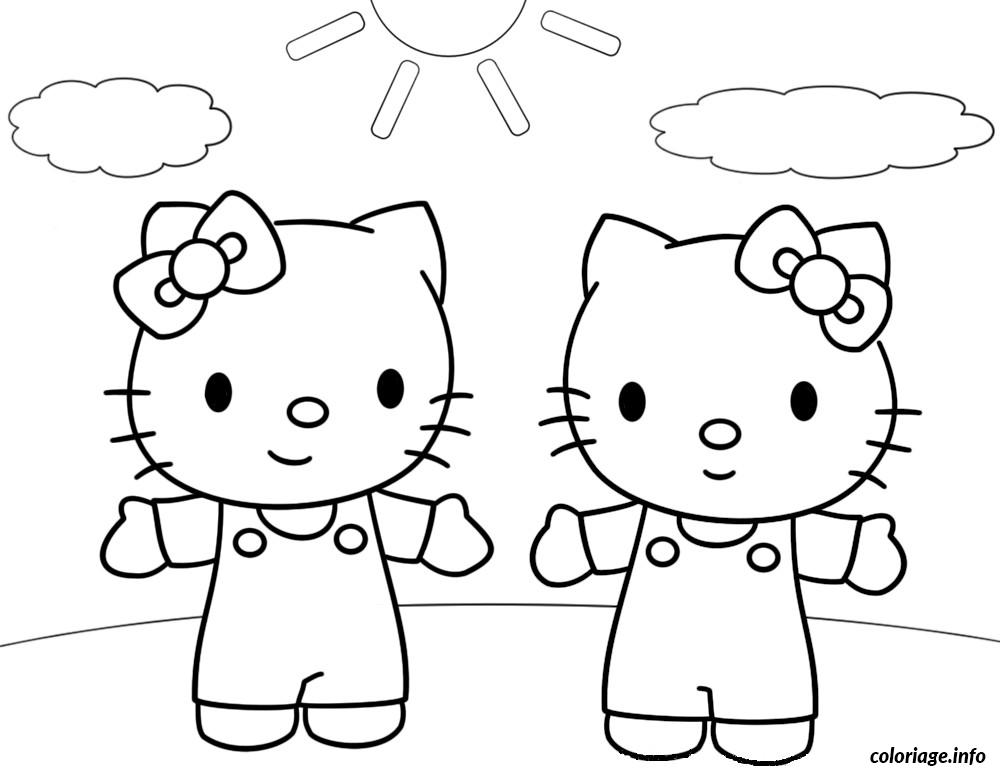 Coloriage dessin hello kitty 119 dessin - Hello kitty jeux coloriage ...