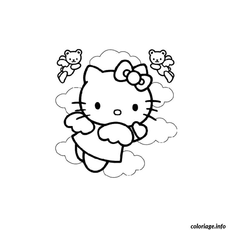 Coloriage Dessin Hello Kitty 124 Dessin à Imprimer