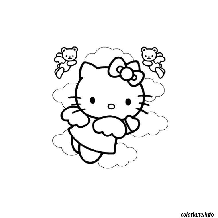 Dessin dessin hello kitty 124 Coloriage Gratuit à Imprimer
