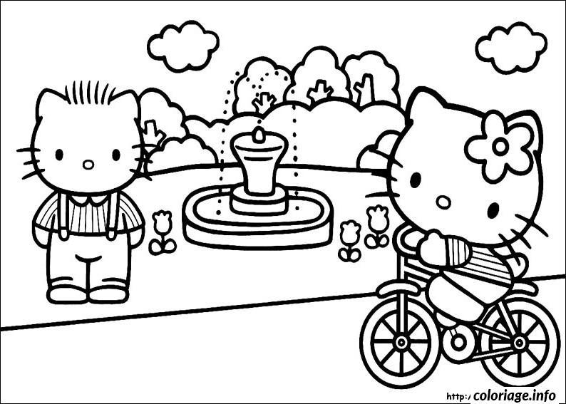 coloriage dessin hello kitty 269 dessin