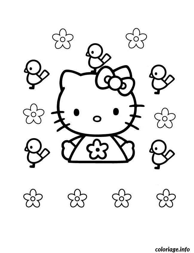 Dessin dessin hello kitty 81 Coloriage Gratuit à Imprimer