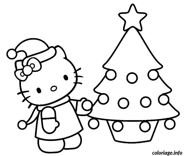 Coloriage Dessin Hello Kitty 170 Jecolorie Com