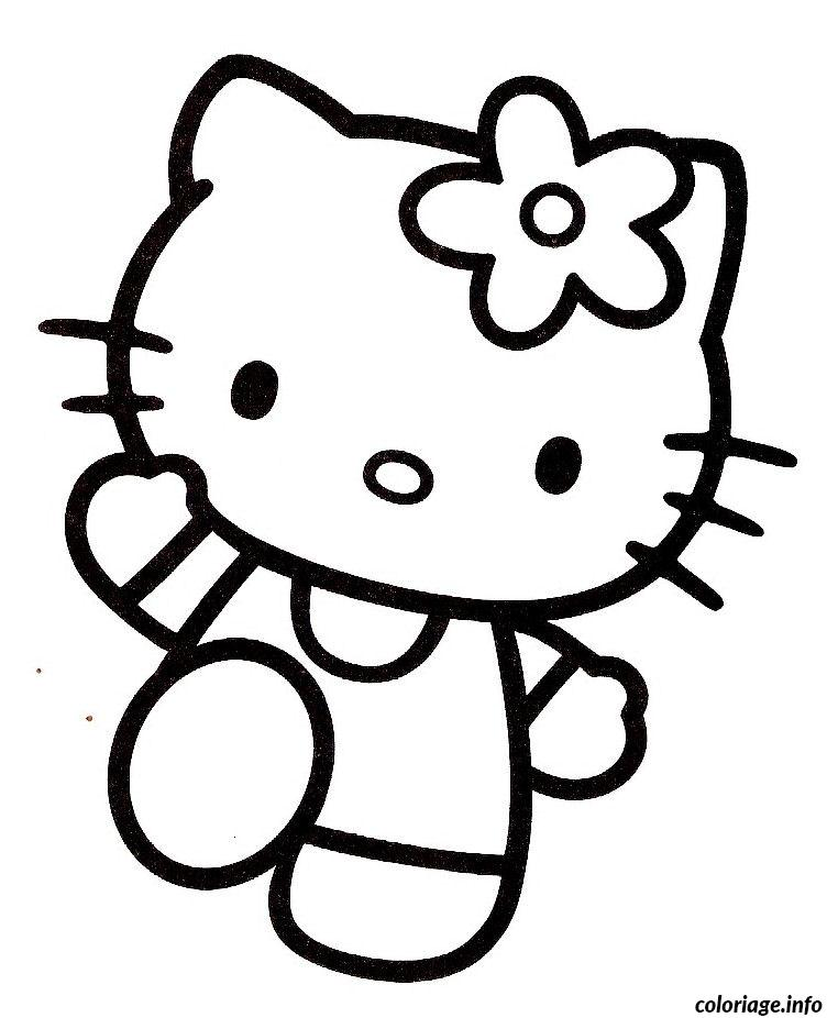 Coloriage dessin hello kitty 15 dessin - Coloriage hello kitty jeux ...