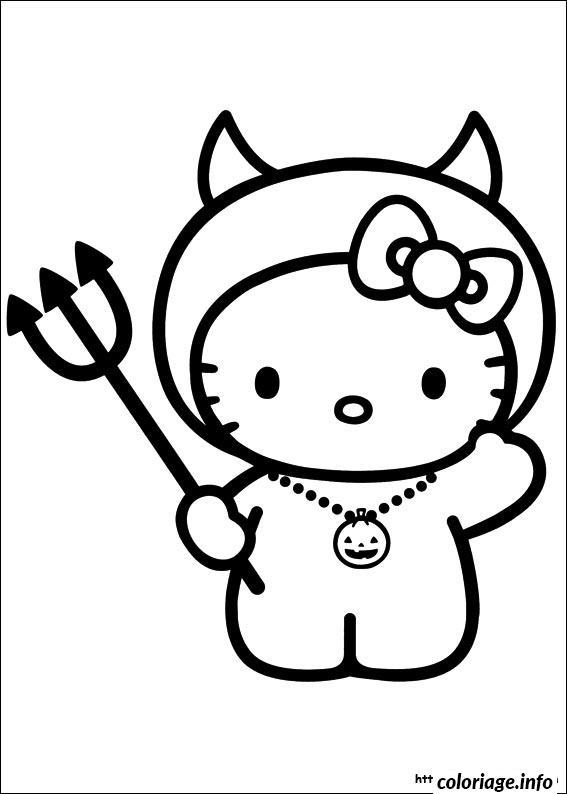Dessin dessin hello kitty 179 Coloriage Gratuit à Imprimer