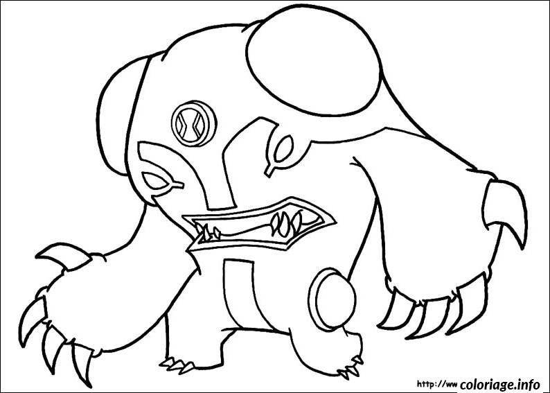 Coloriage dessin ben 10 39 - JeColorie.com