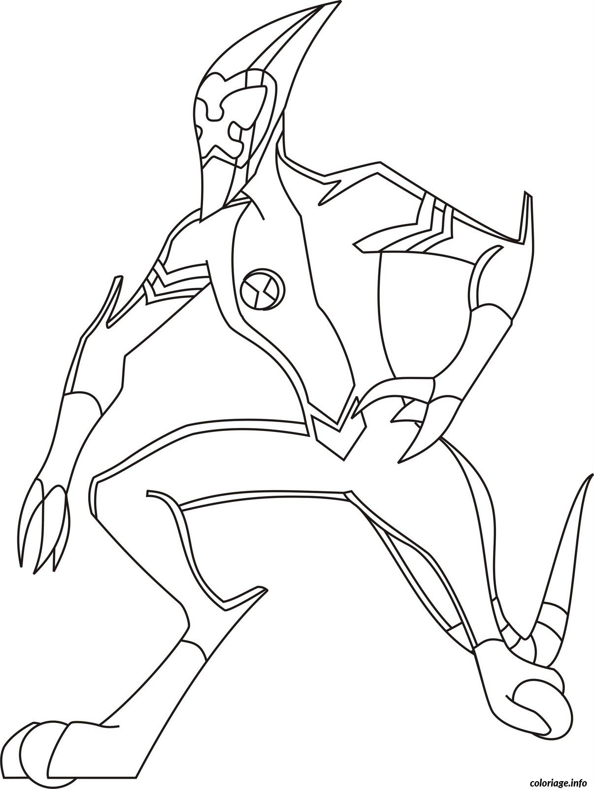 Gallery of ben 10 2 coloriage ben 10 coloriages pour ...