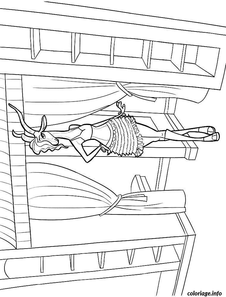 Dessin zootopie dessin gazelle Coloriage Gratuit à Imprimer