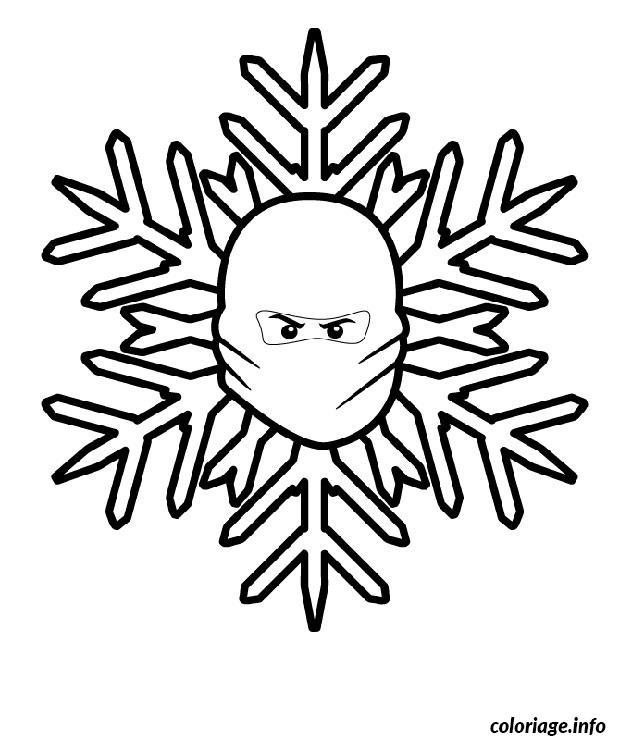 Dessin dessin ninjago flocon Coloriage Gratuit à Imprimer