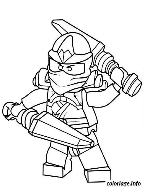 Dessin Ninjago dessin 12 Coloriage Gratuit à Imprimer
