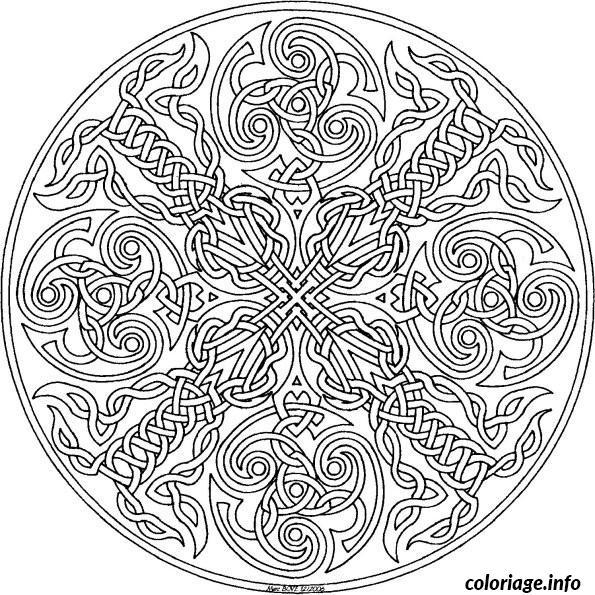 Dessin dessin adulte antistress inspiration zen 31 Coloriage Gratuit à Imprimer