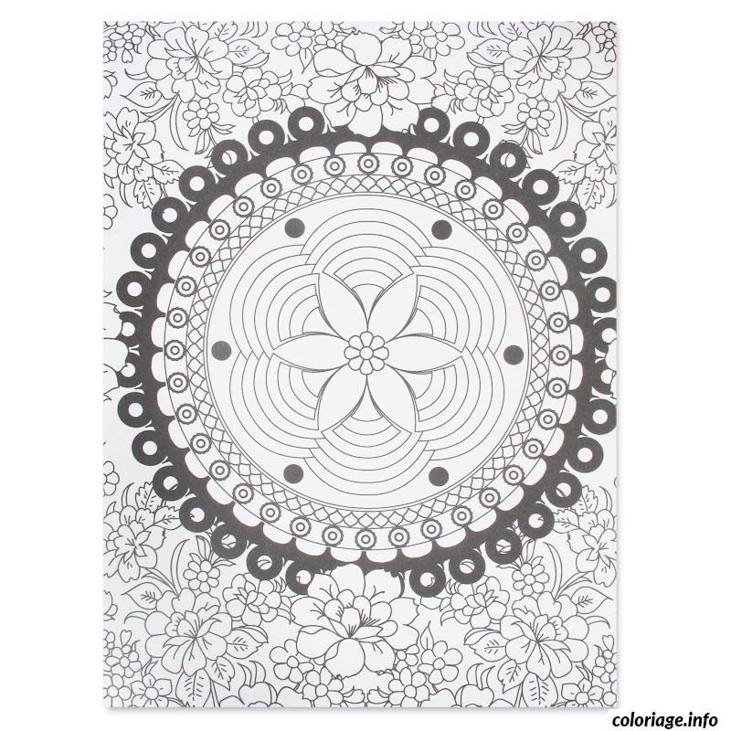 Dessin dessin adulte antistress inspiration zen 36 Coloriage Gratuit à Imprimer
