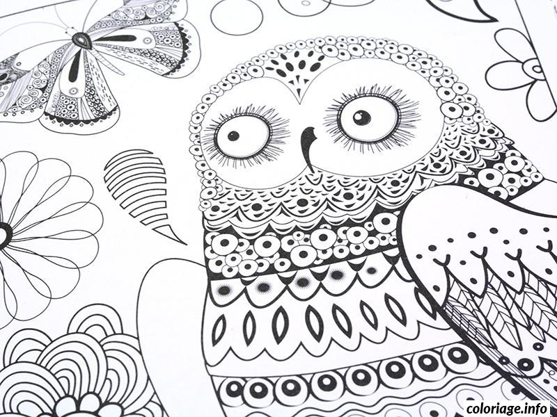 Dessin dessin adulte antistress inspiration zen 98 Coloriage Gratuit à Imprimer