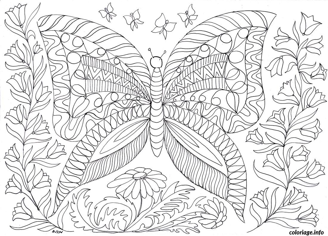 Coloriage anti stress adulte 20 dessin - Anti coloriage ...