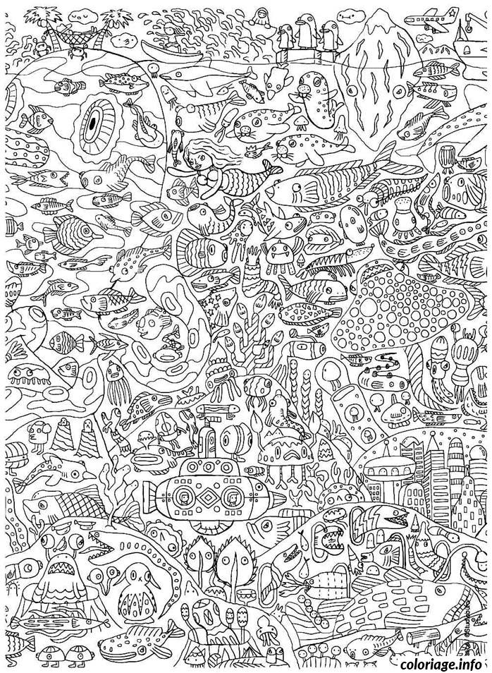 Coloriage Anti Stress Adulte 14 Jecolorie Com