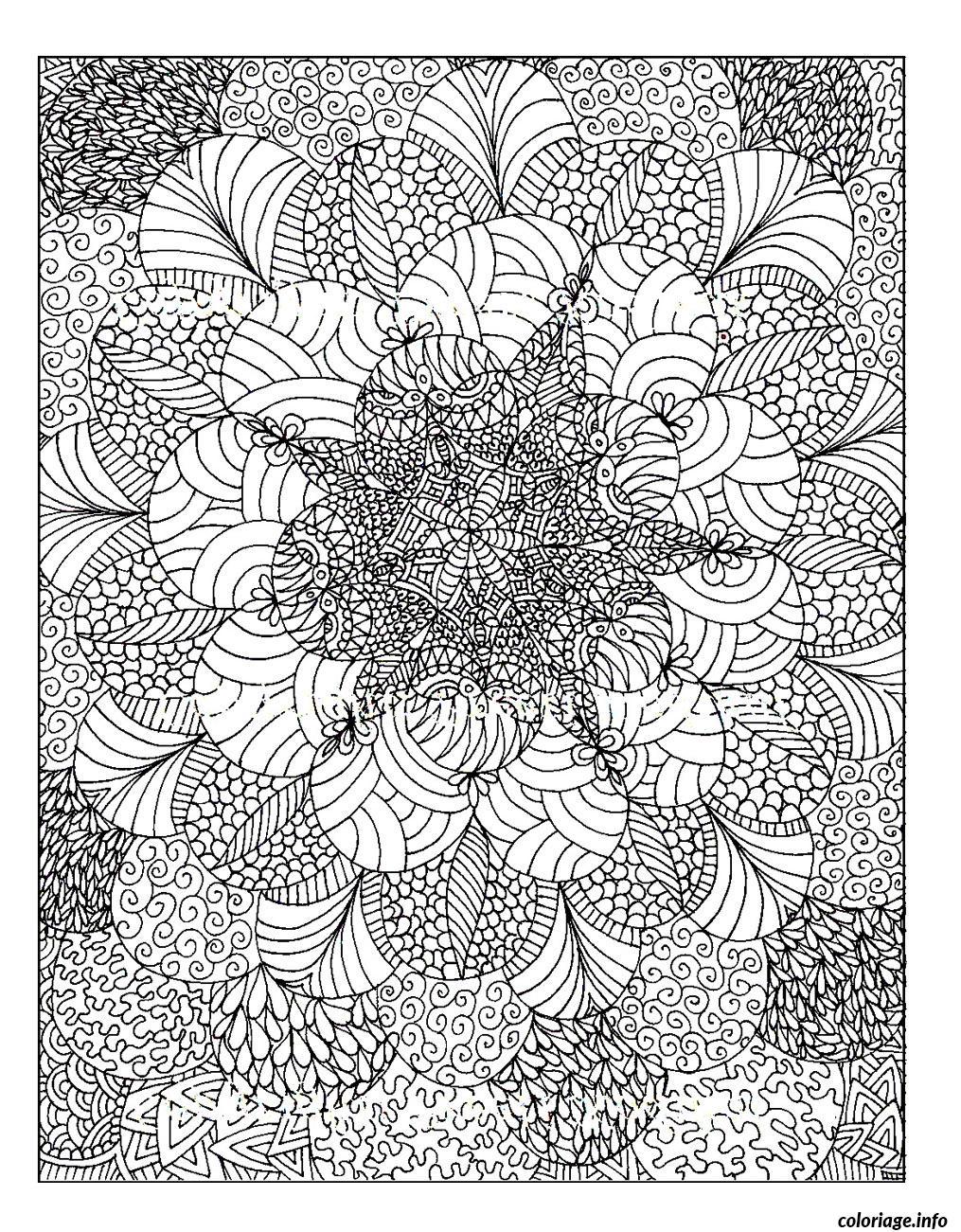 coloriage anti stress adulte 10 dessin imprimer - Coloriage Anti Stress En Ligne