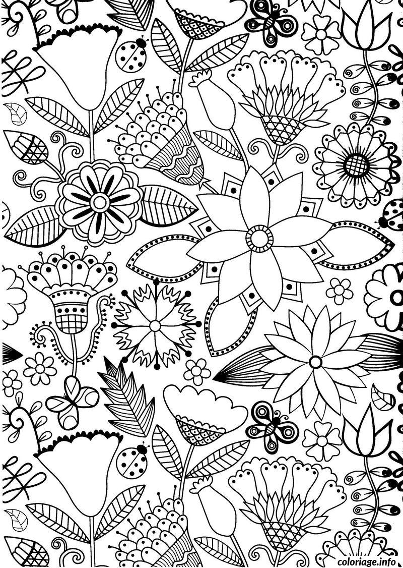 Coloriage Anti Stress Adulte 2 Dessin à Imprimer