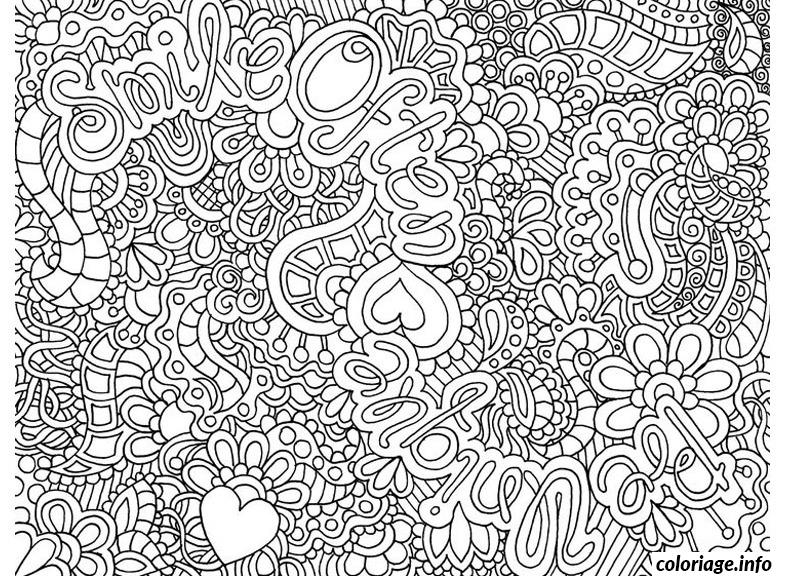 Coloriage anti stress adulte 65 dessin - Coloriage anti stress pour adulte a imprimer ...