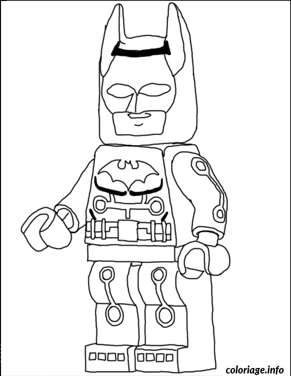 Coloriage Another Batman Lego Dessin à Imprimer