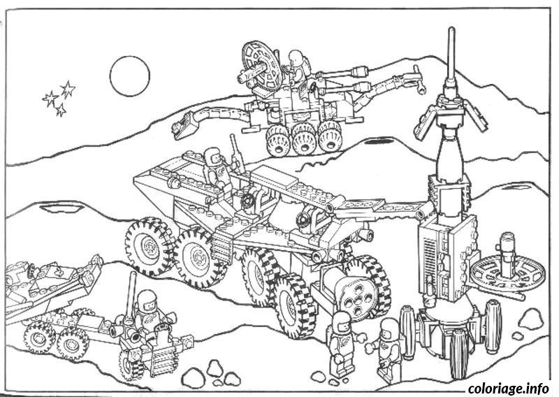 Coloriage dessin lego 134 - Lego coloriage ...